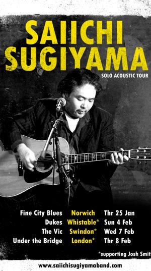 Saiichi acoustic Tour medium